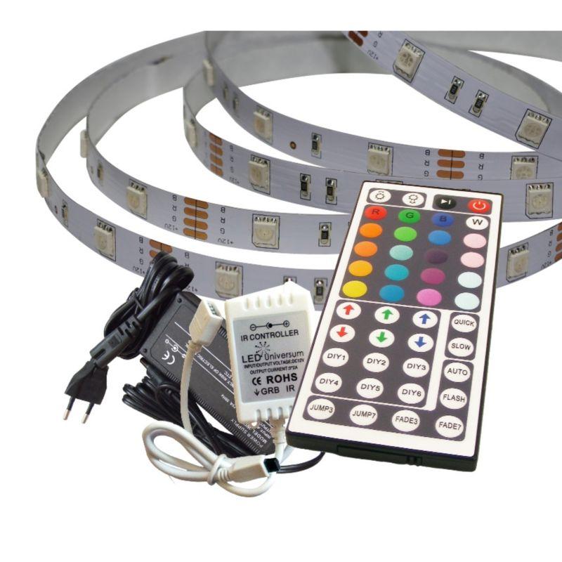 20 m rgb led streifen set 30 led m ip20 inkl controller cyberport. Black Bedroom Furniture Sets. Home Design Ideas