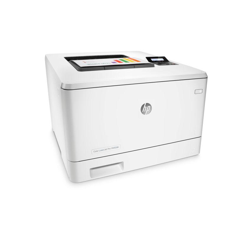 HP Color LaserJet Pro 400 M452dn Farblaserdrucker LAN + 3 Jahre ...