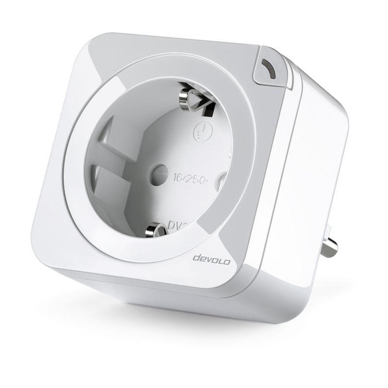 devolo Home Control Schalt- & Messsteckdose 2.0 (Smart Home, Z Wave ...