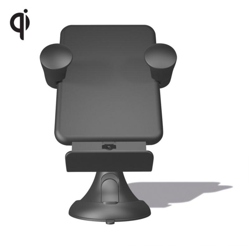Zens Wireless Kfz Ladegerät für die Windschutzscheibe Qi schwarz ZECC03B00