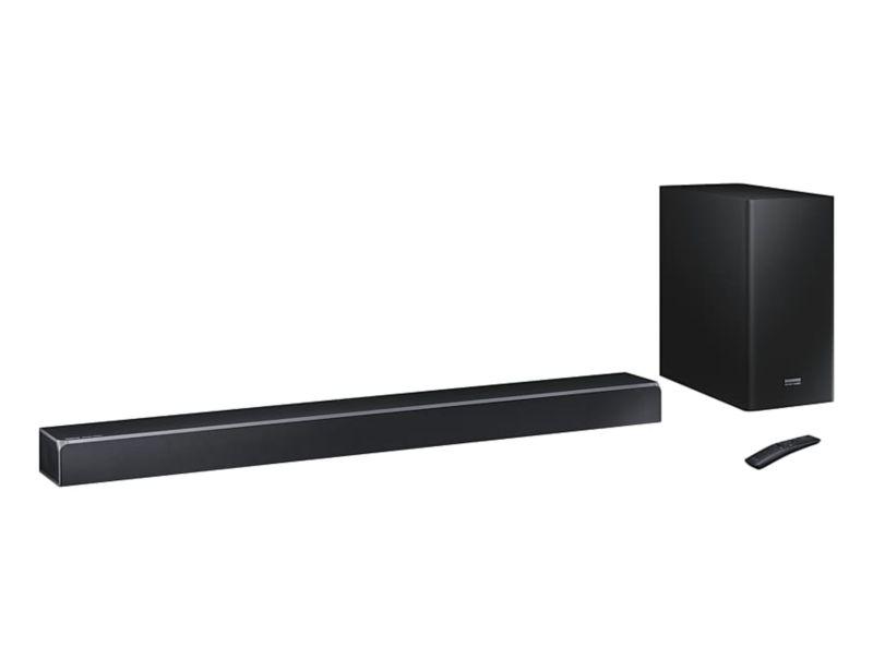 Samsung HW-Q80R 5.1.2-Kanal-Soundbar, Wireless Sub und Dolby Atmos