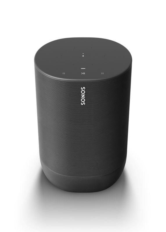 Sonos Move – Smart Speaker mit Bluetooth, Akku und Sprachsteuerung