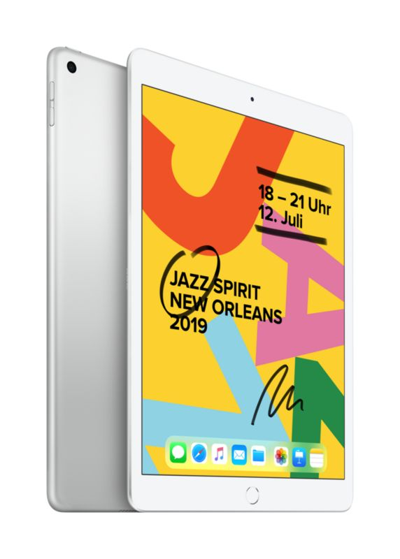 """Apple iPad 10,2"""" 7th Generation Wi-Fi 32 GB Silber MW752FD/A"""