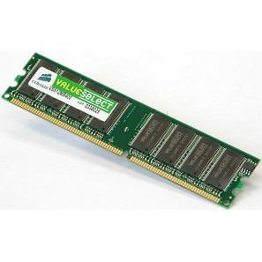 1GB Corsair ValueSelect DDR400 CL3 RAM