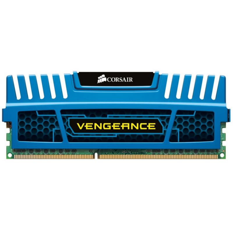 8GB (2x4GB) Corsair Vengeance Blau DDR3-1600 CL9 (9-9-9-24) RAM DIMM Kit