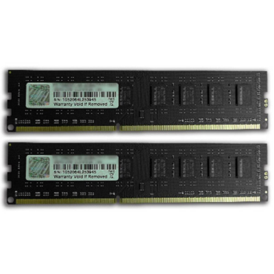 G. Skill 8GB (2x4GB) G.Skill Value DDR3-1333 CL9 (9-9-9-24) RAM DIMM Kit | 4711148596602