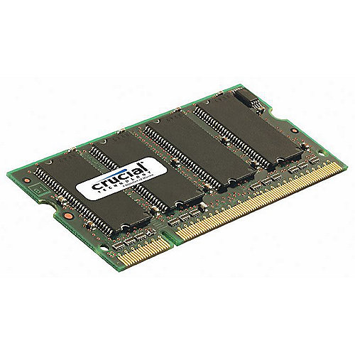 1GB Crucial DDR400 CL3 SO-DIMM RAM