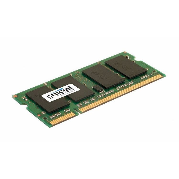 2GB Crucial DDR2-800 CL6 SO-DIMM RAM