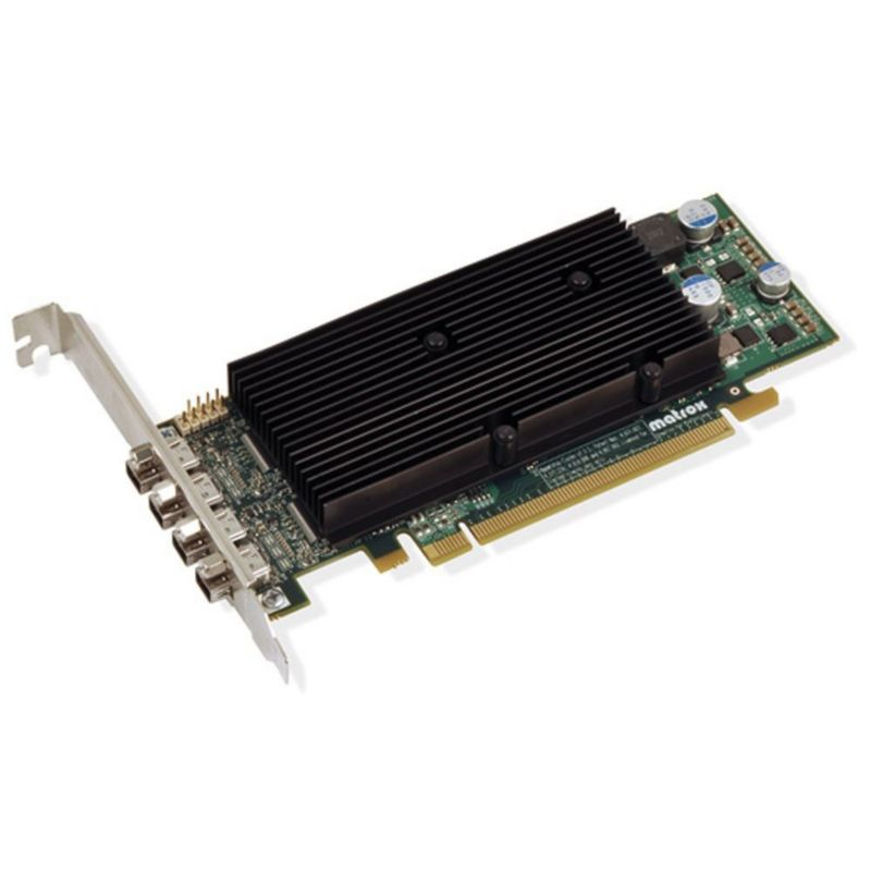 Matrox M9148 LP 1024MB DDR2 PCIe 4x mini DisplayPort LP passiv - Retail