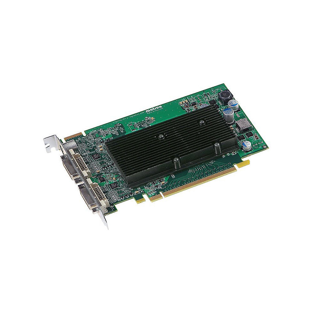 Matrox M9120 512MB PCIe 2xDVI/TV-Out passiv - Retail