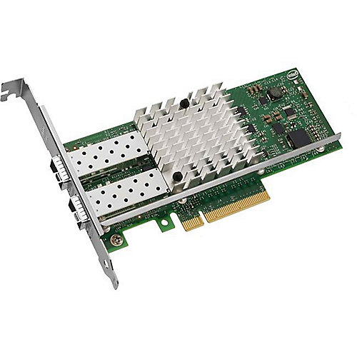 Intel X520-DA2 10 Gigabit SFP+ PCI Express 2.0 x8 LowProfile