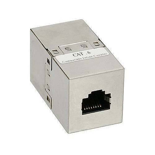 RJ45 Modularkupplung (Buchse-Buchse) CAT6 | 4043718041084