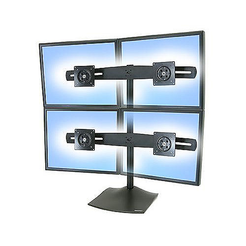ERGOTRON Serie DS100 Standfuß für vier Monitore | 0698833008265