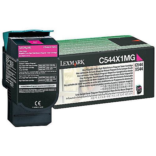 Lexmark 0C544X1MG Toner magenta | 0734646083553
