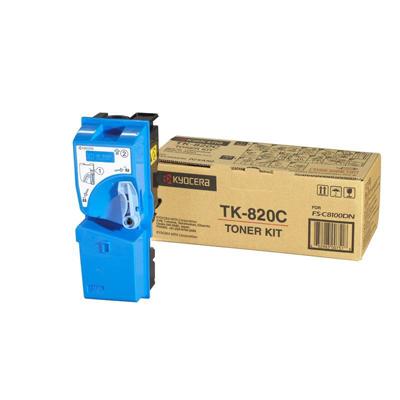 Kyocera  1T02HPCEU0 Toner cyan TK 820C | 0632983009505