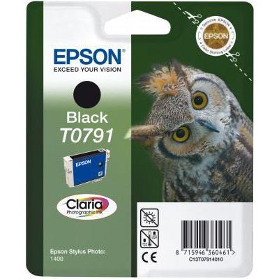 Epson  C13T07914010 Druckerpatrone T0791 schwarz | 8715946360461
