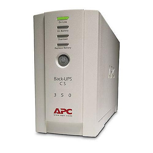 Back-UPS USV CS-350 4-fach 350VA USB/Seriell 1x RJ-45 (BK350EI)