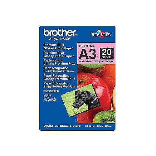 BP71GA3 Fotopapier-A3, Paket mit 20 Blatt, 260 g/qm | 4977766658409