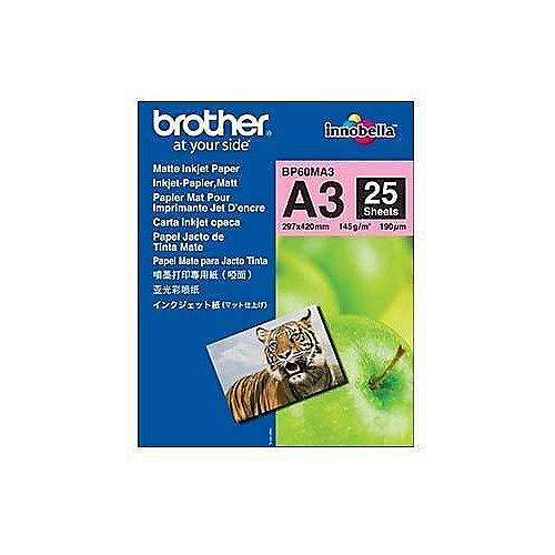 BP60MA3 Mattes Inkjetpapier-A3, Paket mit 25 Blatt, 145 g/qm | 4977766661553