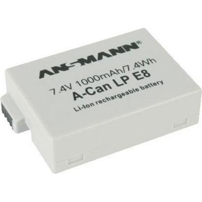 Ansmann  A-Can LP-E 8 Akku 1000mAh (Ersatz für Canon LP-E8)   4013674005697