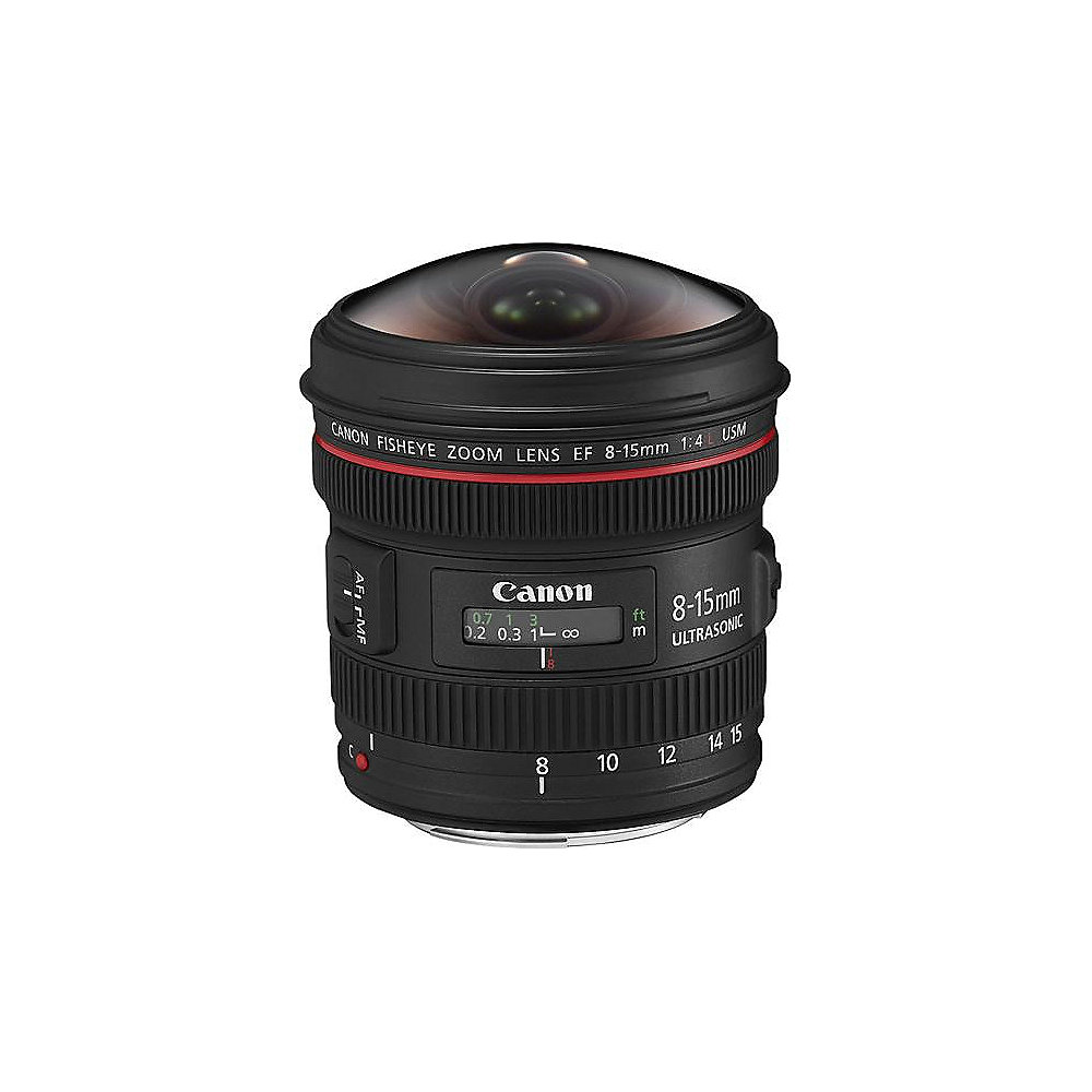 Canon EF 8-15mm F/4,0L Fisheye USM