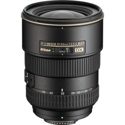 Nikon  AF-S DX Nikkor 17-55mm f/2.8 G ED Standard Zoom Objektiv   0182080214758