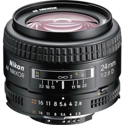 Nikon  AF Nikkor 24mm f/2.8 D Weitwinkel Festbrennweite Objektiv   4960759018045