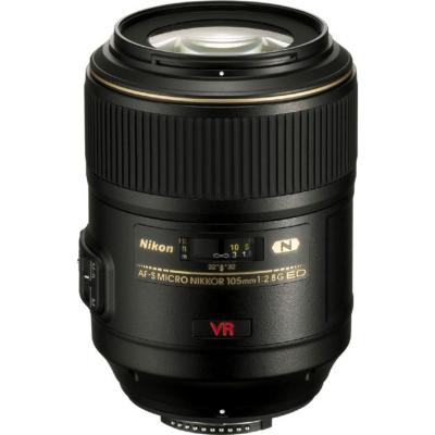 Nikon  AF-S Nikkor 105mm f/2.8 G VR Micro Makro Festbrennweite Objektiv   0018208021604