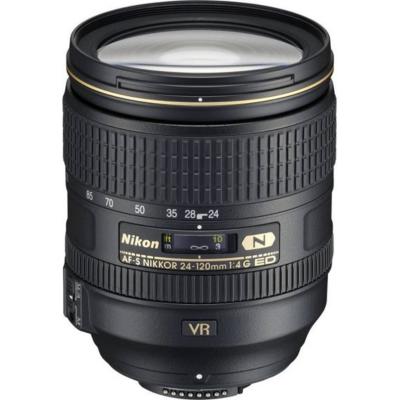 Nikon  AF-S Nikkor 24-120mm f/4.0 G ED VR Standard Zoom Objektiv   4960759026057
