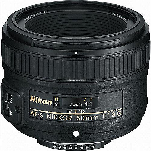 AF-S Nikkor 50mm f/1.8 G Portrait Objektiv   0018208021994