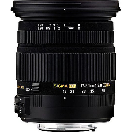 sigma 17 50mm f 2 8 ex dc os hsm standard zoom objektiv f r nikon cyberport. Black Bedroom Furniture Sets. Home Design Ideas