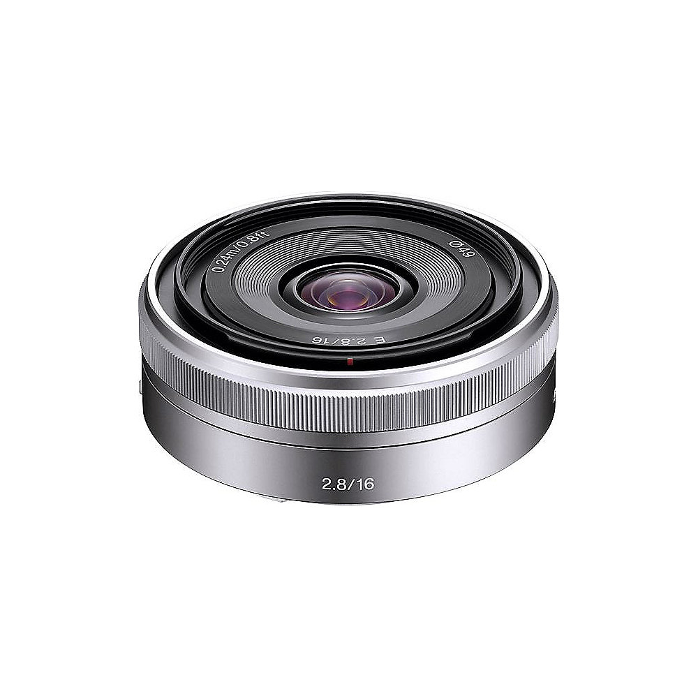 Sony 16mm F/2,8 E-Mount Pancake (SEL-16F28)