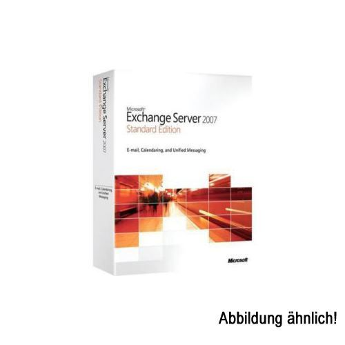 Microsoft Exchange Server Standard ml. Win Open-NL AE SA Student 1 User CAL