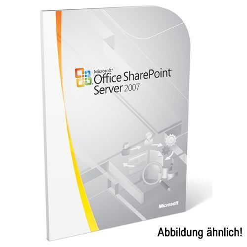 Microsoft SharePoint Server dt. Win Open-NL AE inkl. SA