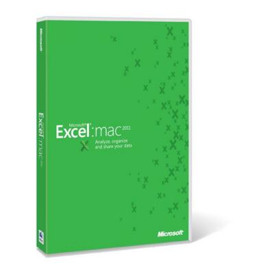 Microsoft  Excel Mac Lizenz + SA Open-NL   0659556774073