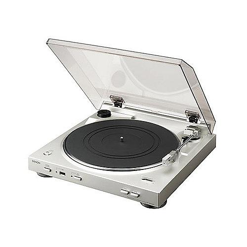 DP-200USB Plattenspieler mit USB-Aufnahme-Funktion silber   4582116360507
