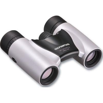 Olympus  8×21 RC II Slim Fernglas weiß inkl. Tasche | 4545350029852