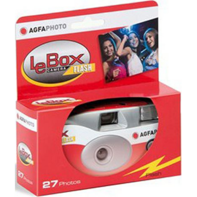 Agfaphoto  LeBox 400 27 flash analoge Einwegkamera | 4250255100185