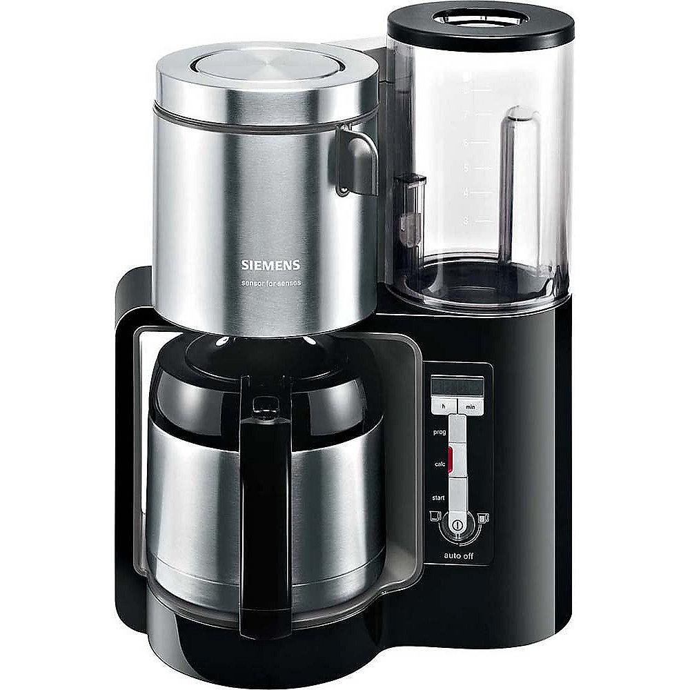siemens tc86503 kaffeemaschine mit thermokanne schwarz cyberport. Black Bedroom Furniture Sets. Home Design Ideas