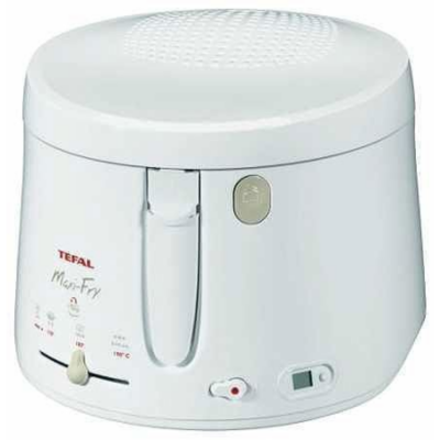 Tefal  FF 1001 Maxi Fry Fritteuse weiß | 3045386304127