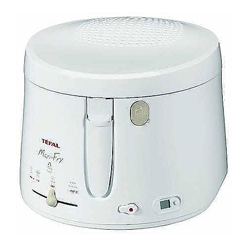 Tefal FF 1001 Maxi Fry Fritteuse weiß