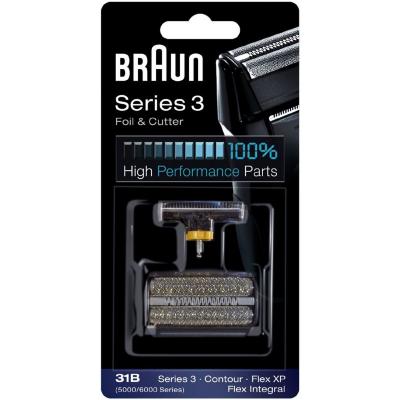 Braun  Scherteile Kombipack Series 3 31B schwarz | 4210201574439