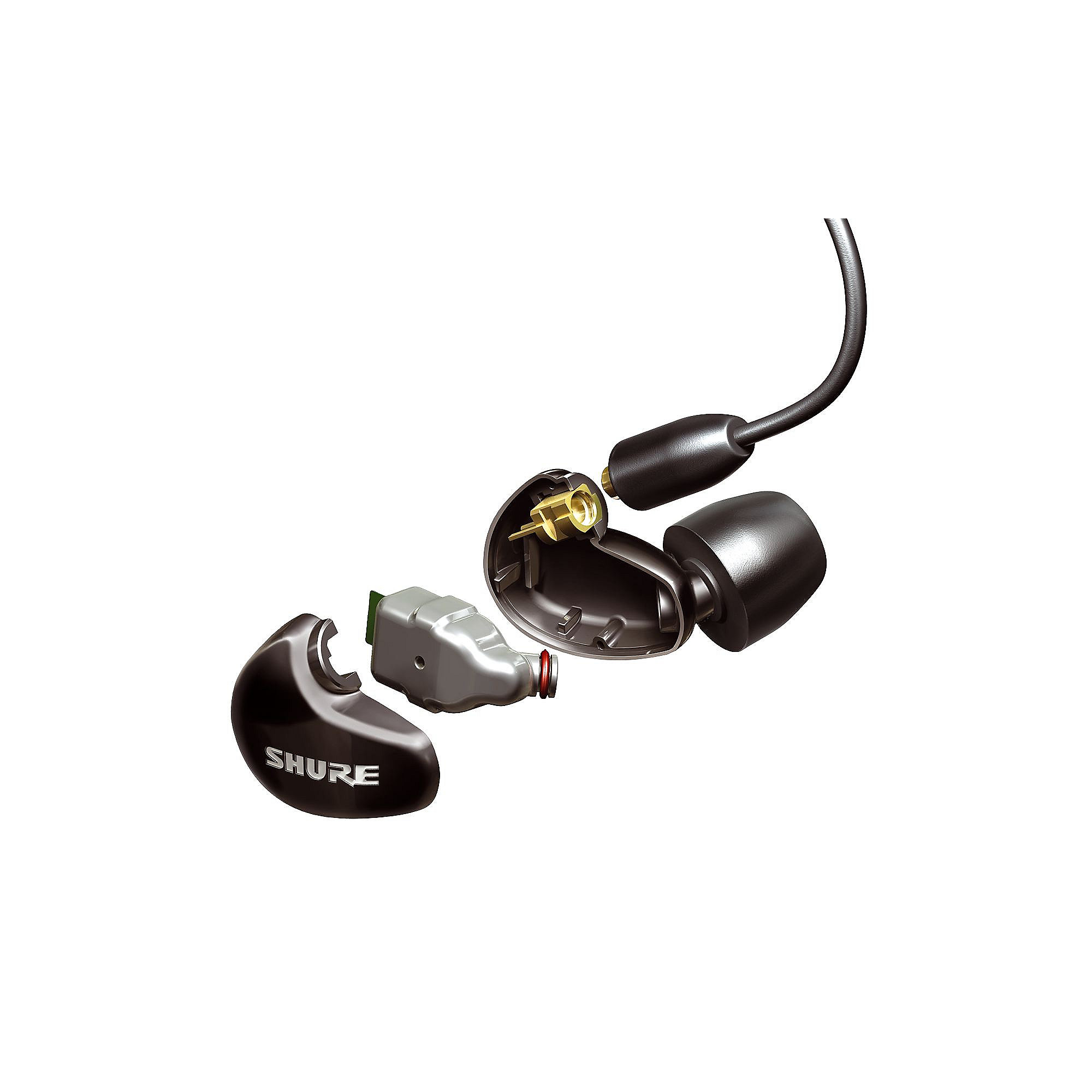 Shure SE315 Sound Isolating Ohrhörer transparent
