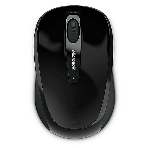 Microsoft Wireless Mobile Mouse 3500 Coal Black Gloss