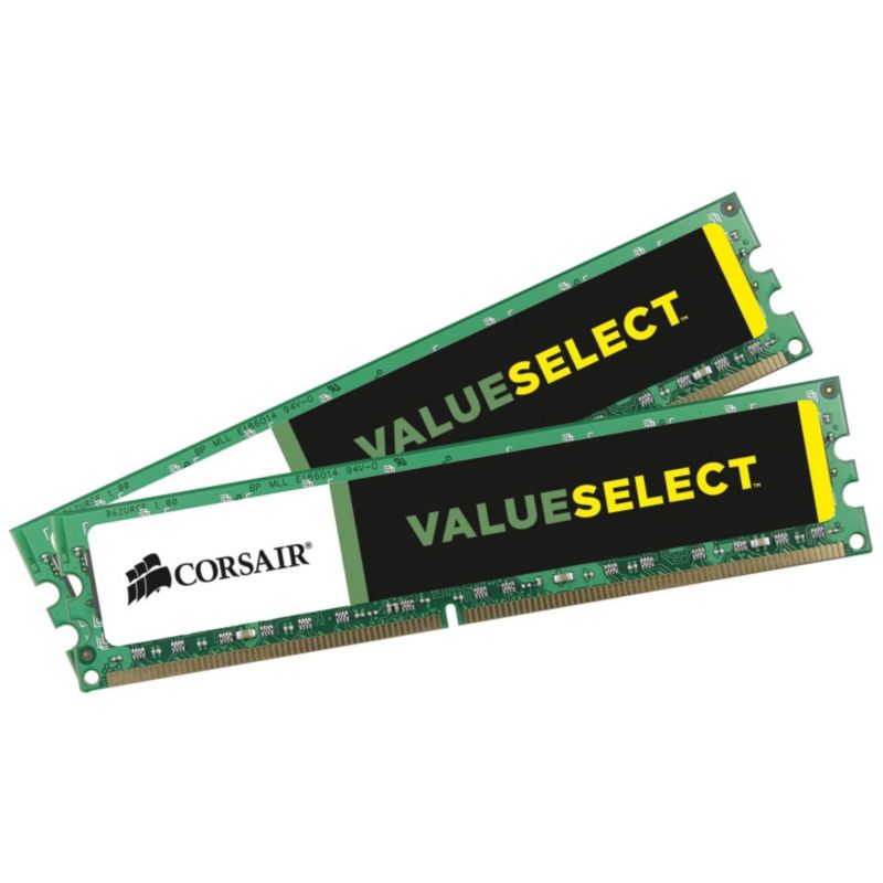 16GB (2x8GB) Corsair ValueSelect DDR3-1333 CL9 (9-9-9-24) RAM - Kit