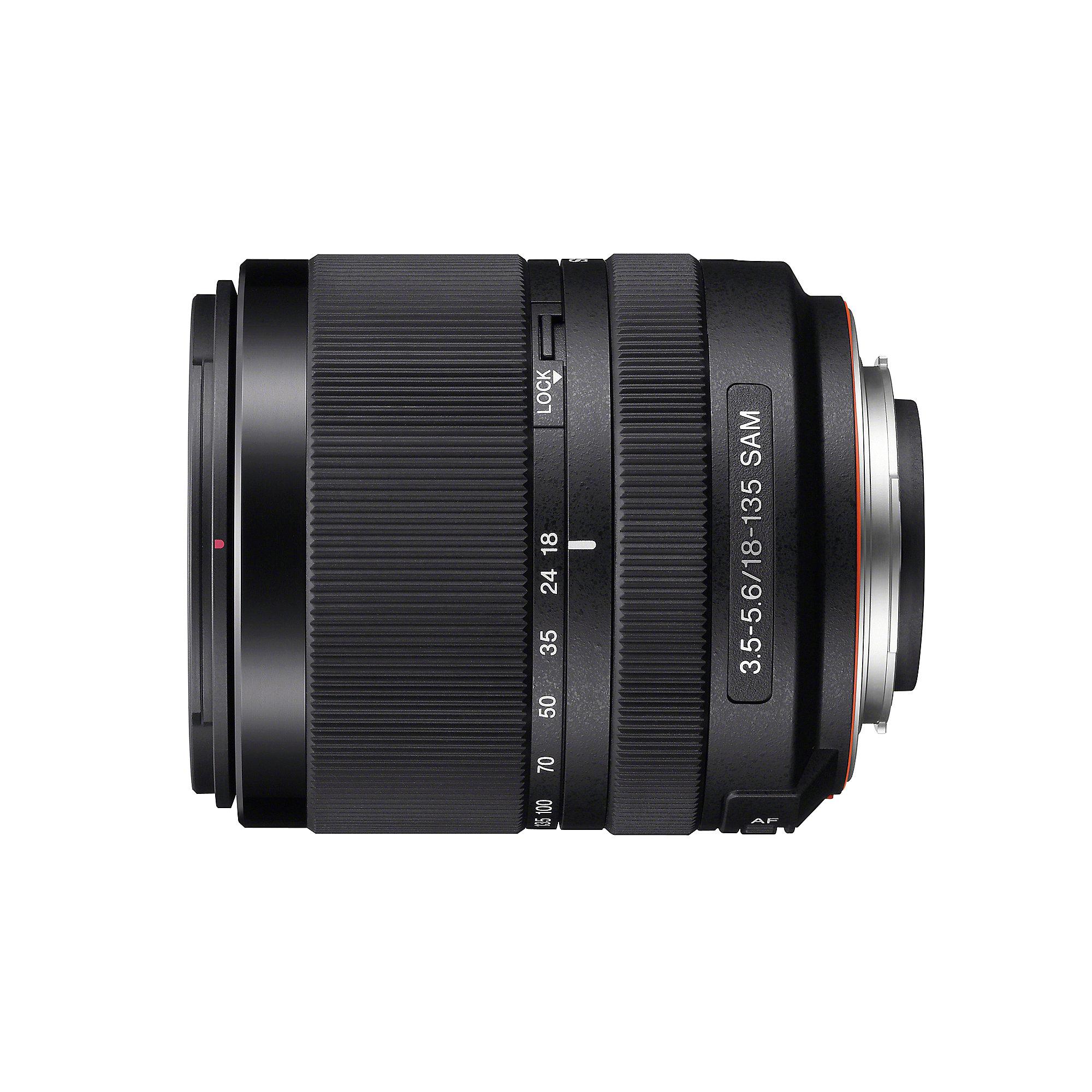 Sony 18-135mm 3.5-5.6 Reise Zoom Objektiv (SAL-18135) ++ Cyberport