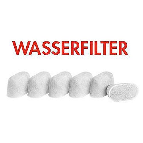 Gastroback 97765 Wasserfilter gegen Kalk für Gastroback 42612 und 42636 (6er) | 4016432977656