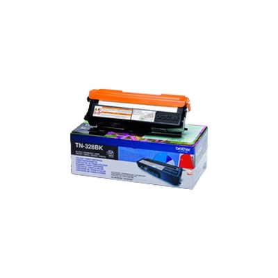 Brother  TN328BK Toner schwarz | 4977766679428