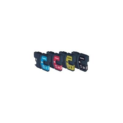 Brother  LC980 Druckerpatrone Multipack (schwarz, gelb, cyan, magenta) | 5014047561030
