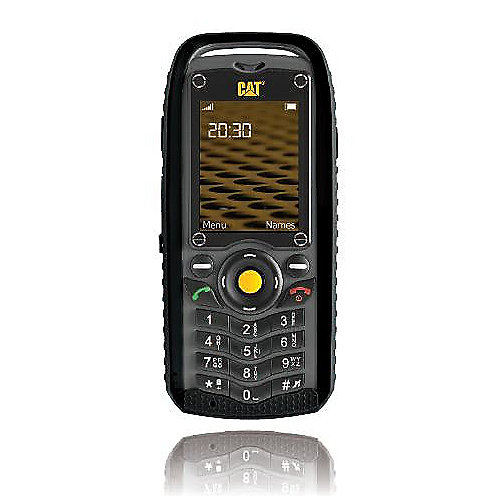 CAT B25 Dual-SIM schwarz Outdoor-Mobiltelefon